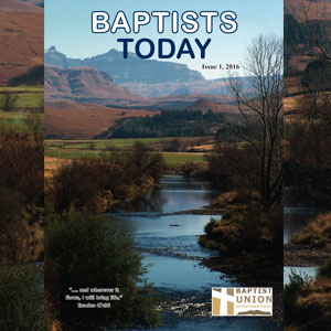 Baptists Today, Issue 1, 2016